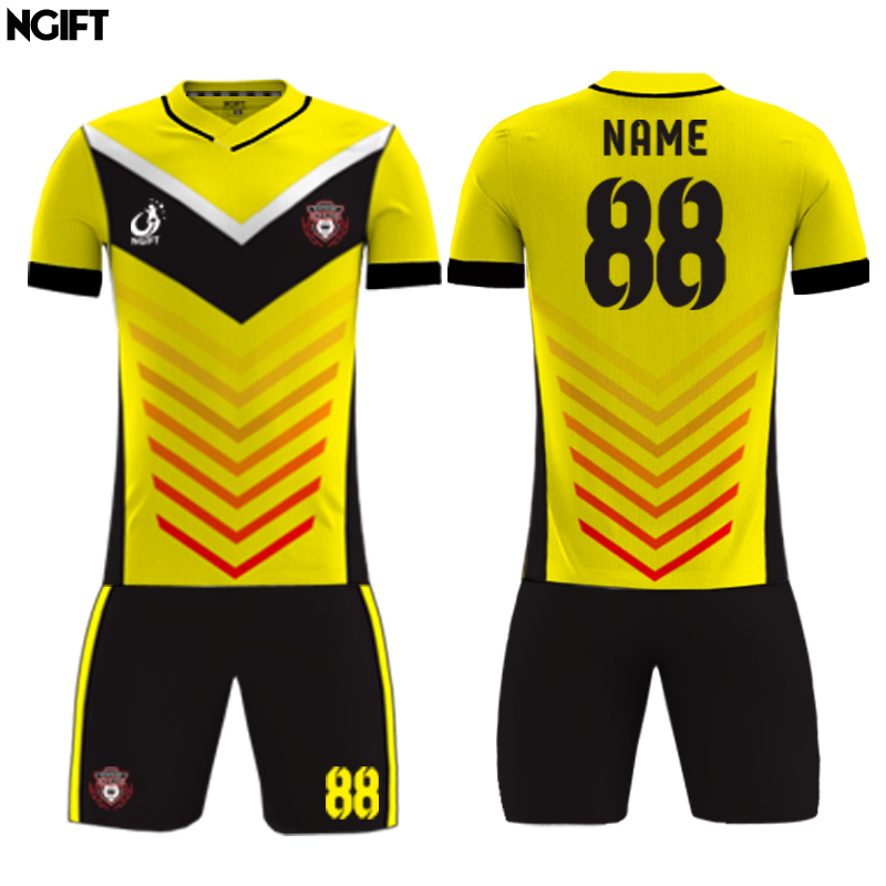 4a2f426e0cc Ngift jersey of football jersey shirts custom football equipment Kids  Football sublimation custom soccer jersey-in Soccer Sets from Sports &  Entertainment ...