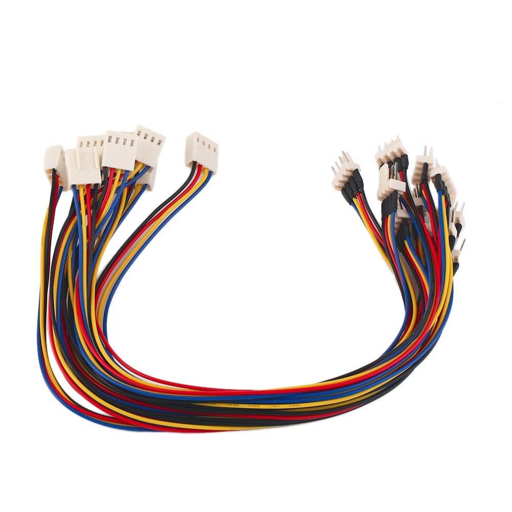 Nieuwe Aankomst 4 Pins Man Vrouw Cpu Koelventilator Extension Kabel Cable Power Weerstand Draad Interne Verlengkabel Cord In