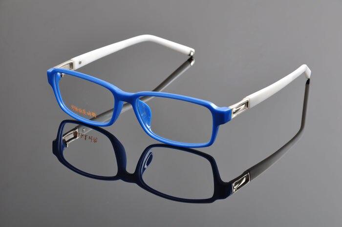 Новые роскошные очки оправы для мужчин и женщин TR90 оптические оправы Рецептурные очки armacoes очки de grau femininoD0893 - Цвет оправы: Blue white