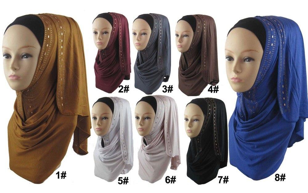 rhinestone hijab-1