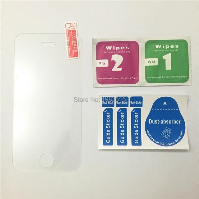 10 pz ultra sottile vetro temperato film per iphone 4 4 s prezzo di ...