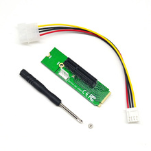 PCI-e 1x/4x card to NGFF M Key Adapter Card NGFF M.2 Key to PCI-E 4 X Extender Converter Card for Bitcoin Mining Devices