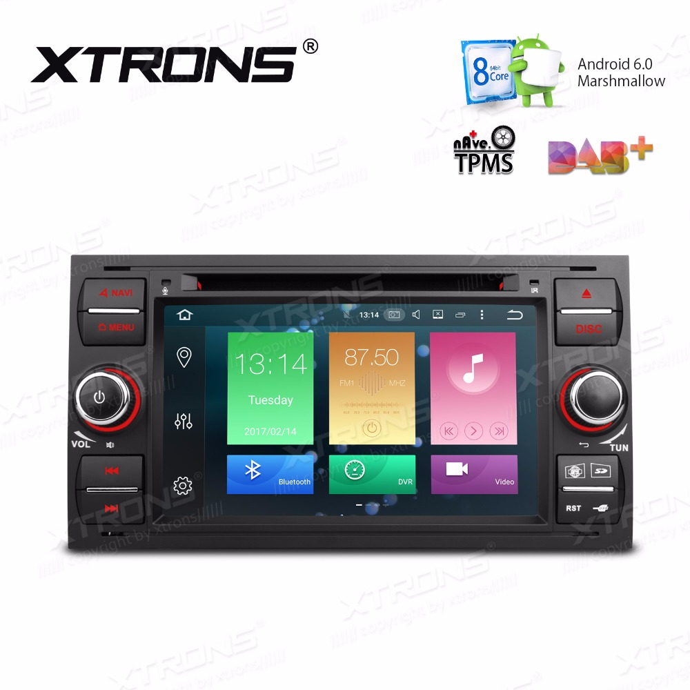 8 Android 6 0 Car DVD Player GPS Radio for Ford Fiesta 2014 2017 4G TPMS DVR