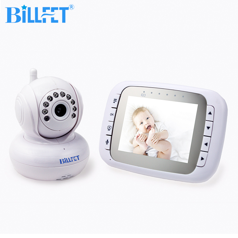 2 4GHz Wireless video Baby Monitor with font b Camera b font IR Night Vision font