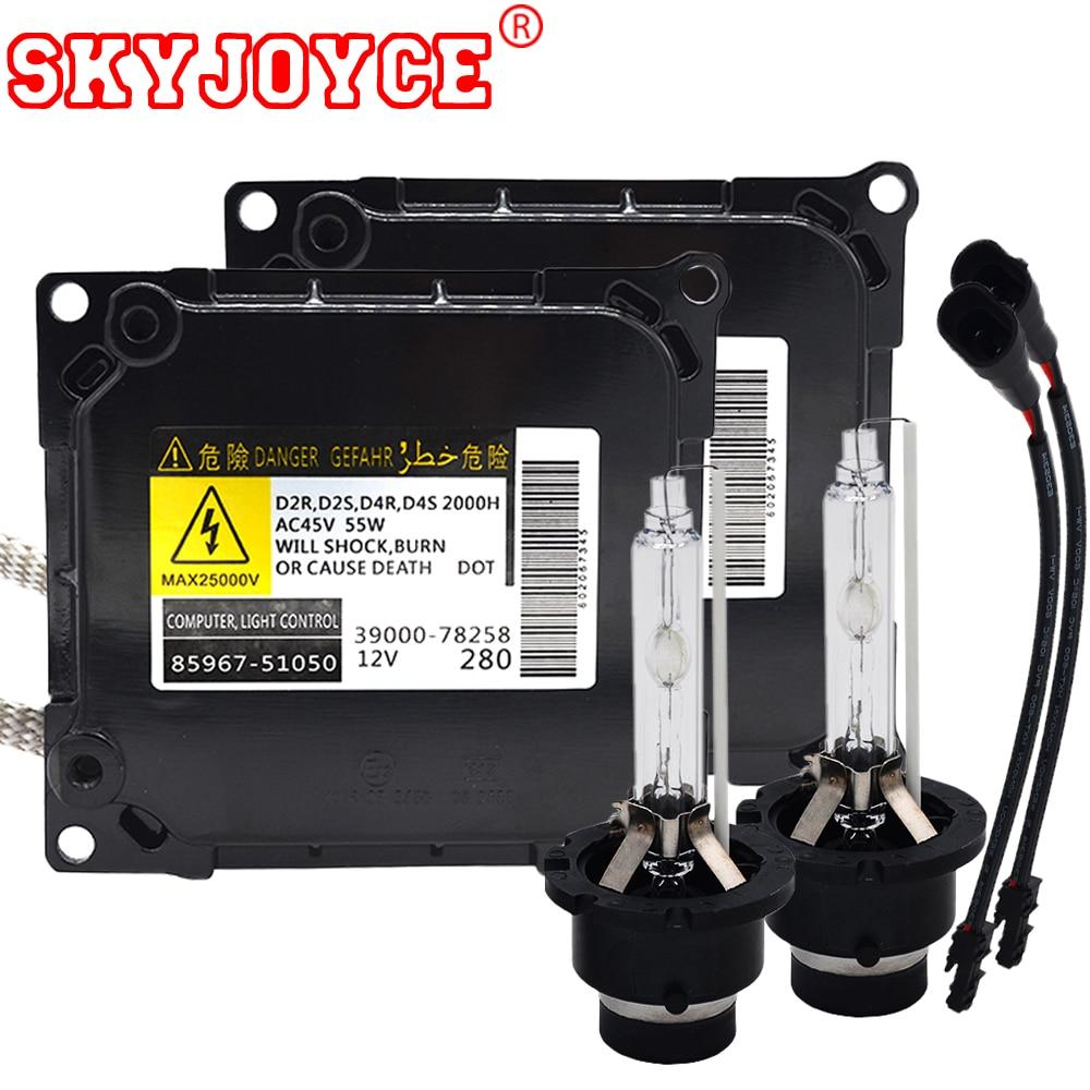 skyjoyce original xenon hid kit d4s xenon ballast kit parts no 85967 51050 55w [ 1000 x 1000 Pixel ]