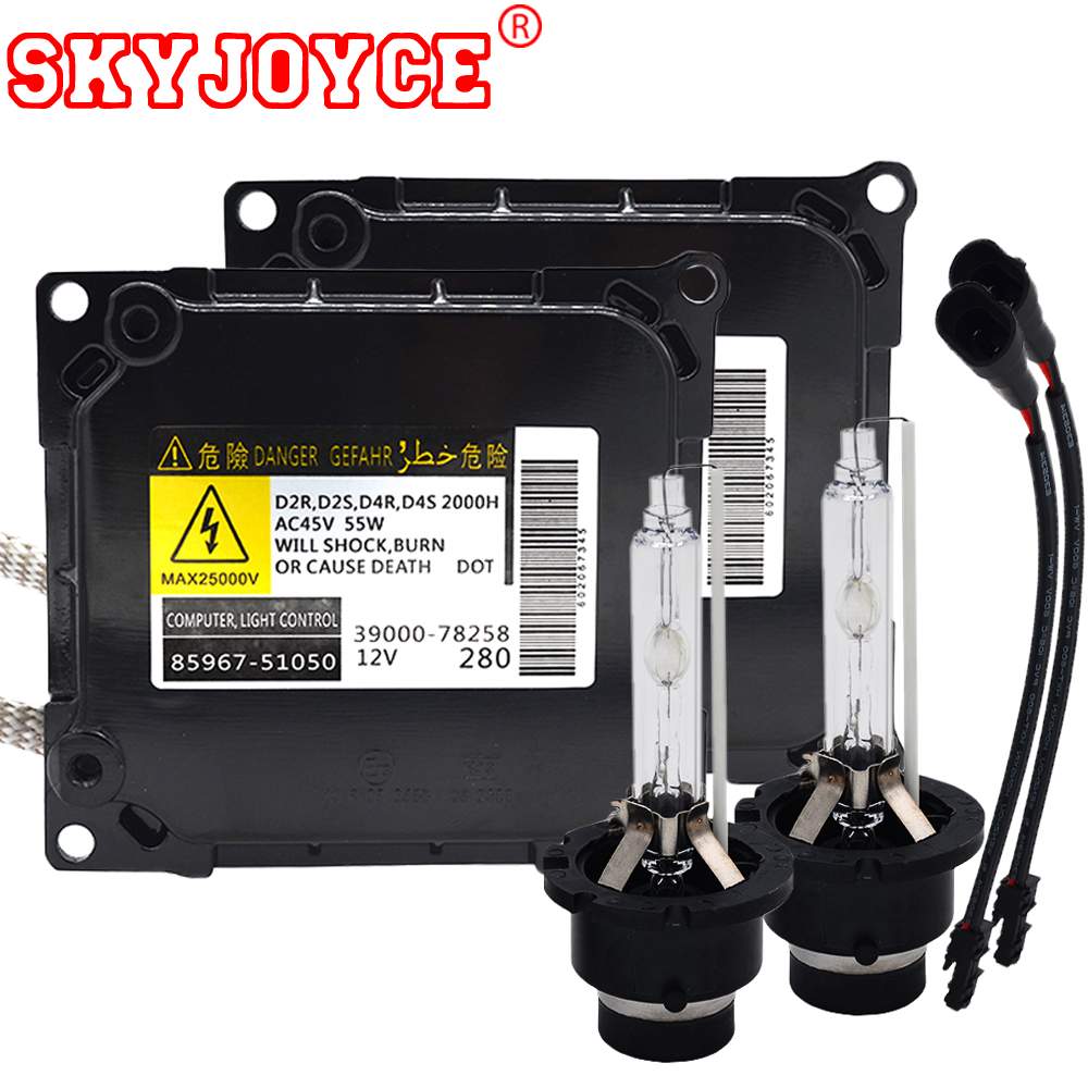 medium resolution of skyjoyce original xenon hid kit d4s xenon ballast kit parts no 85967 51050 55w