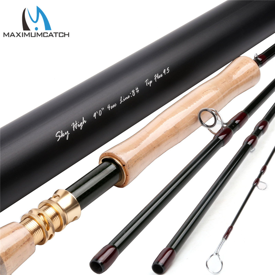 Maximumcatch Fly-Rod-9FT-SK-Carbon-Fast-Action-Fly-Fishing-Rod-IM12-amp-Aluminum-Tube  4-8WT-Fly-Rod-9FT-Nano-Carbon-Fast-A туфли michael michael kors 40f7armp2d 001 black
