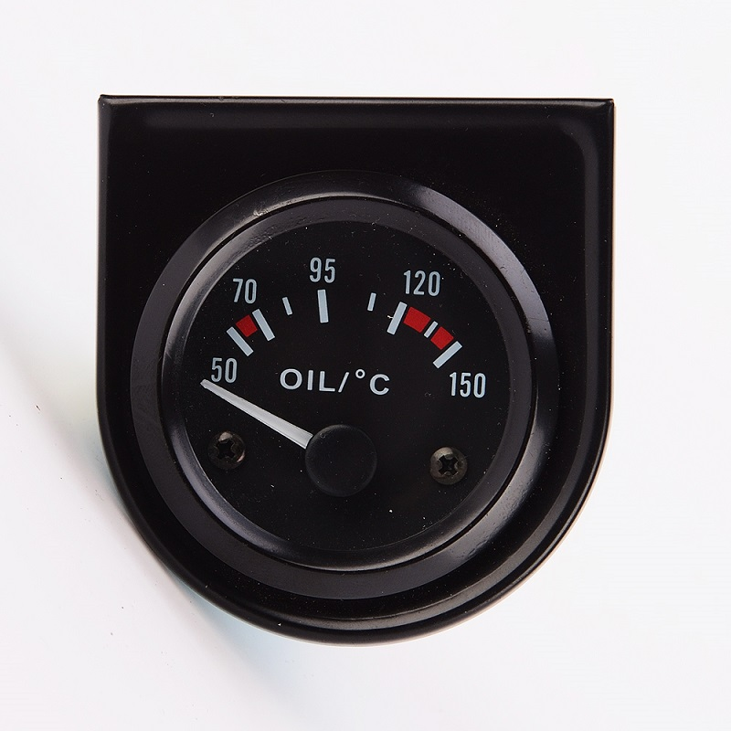 Brand New Car Racing 2(52mm)  Universal Oil Temp Gauge with Oil Sender 50~150C Electrical Motorcycle Guage