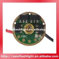 Nanjg 105C AMC7135 x 8 + MCU 3040mAh 4 그룹 2 ~ 5 모드 17mm 회로 기판