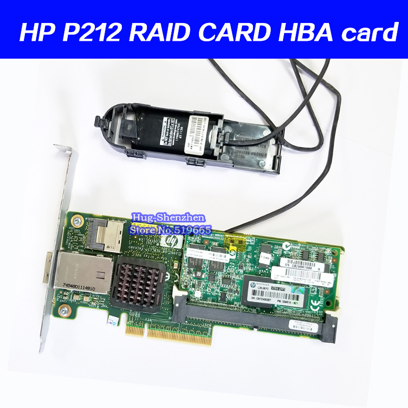 P212 Server Array Card HBA Card 462594-001 462828-B21 013218-001 For HP
