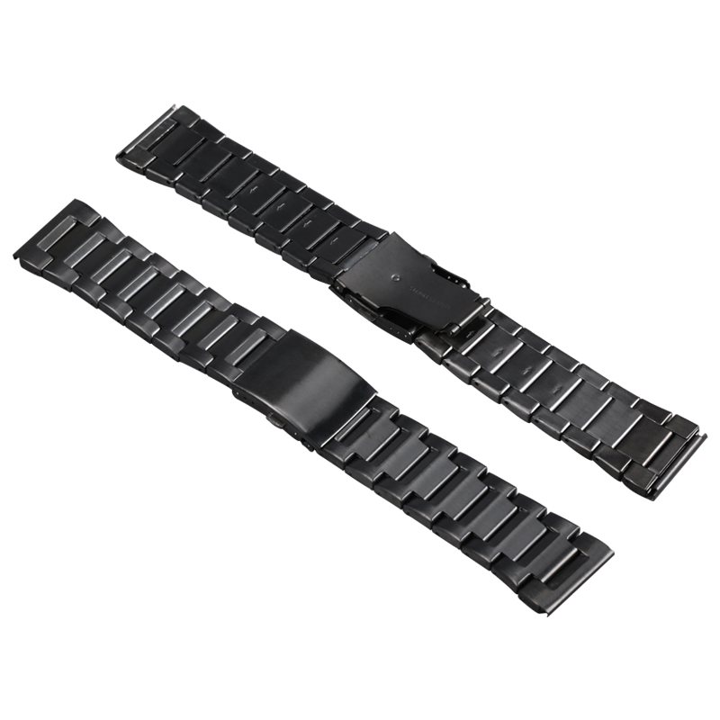 Microwear H1 D'origine Montre Smart Watch Bracelet En Acier Inoxydable 26mm Noir Andorid IOS Pour H1 Montre Smart Watch