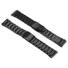 Microwear H1 Original Smart Watch Stainless Steel Strap 26mm Black Andorid IOS For H1 Smart Watch