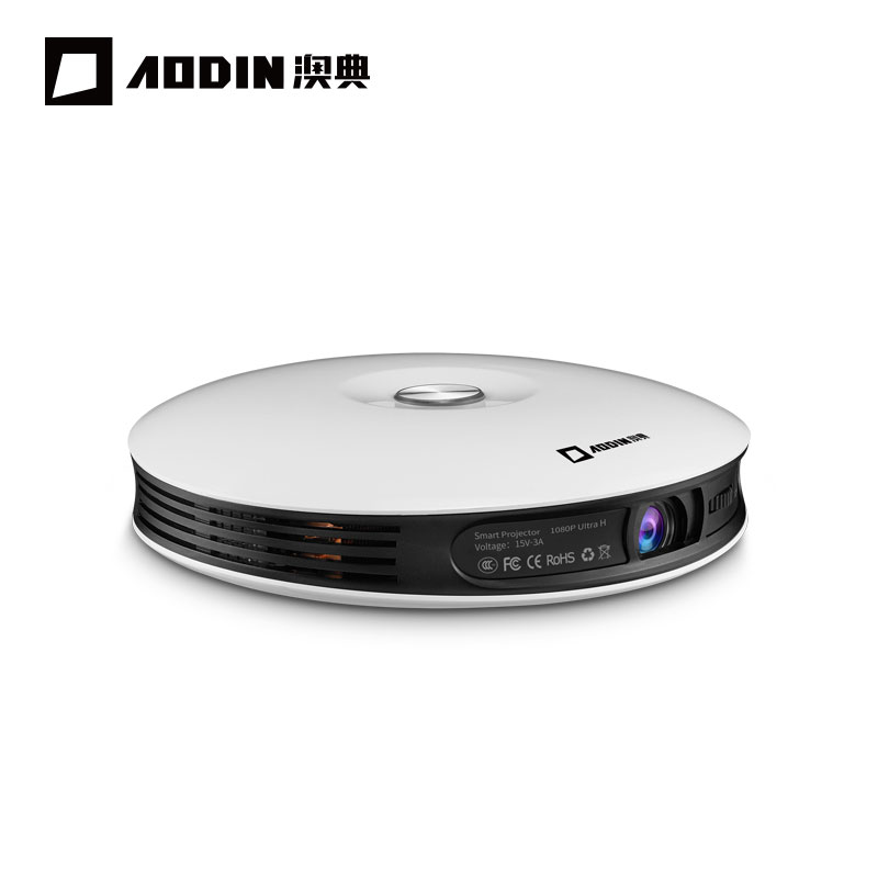 AODIAN M18 Mini Projector DLP HD 3D Pocket projector HDMI 1080P 4K LED home theater projector Android 5G WIFI portable projector проектор 5500ansi dlp 3d hd hdmi 1080p