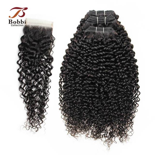 Bobbi Collection 23 Bundles With Closure Peruvian Hair Weave Jerry