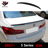 VOE G30 Carbon Fiber P style Auto Car styling Rear Wing Trunk Lip Spoiler for BMW New 5 Series G30 2017+|trunk lip spoiler|spoiler for bmw|lip spoiler -