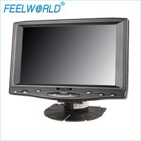 FW619AHT 7 인치 1024x600 IPS LCD 터치 스크린 모니터 HDMI VGA AV 입력 7
