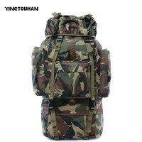 YINGTOUMAN 60L 3D Открытый Спорт Военная Униформа Тактический Восхождение Альпинизм рюкзак Кемпинг пеший туризм походы дорожные сумки