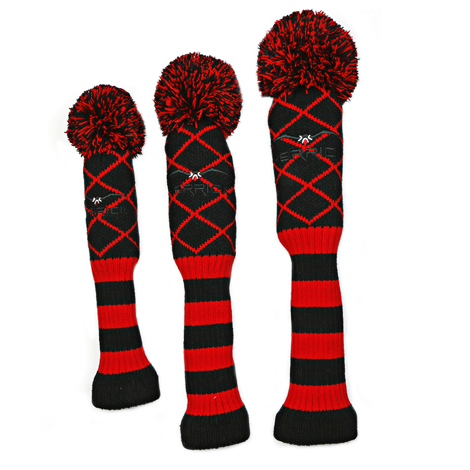 3pcs/set Wool Knit Golf Clubs Fairway Headcovers G...