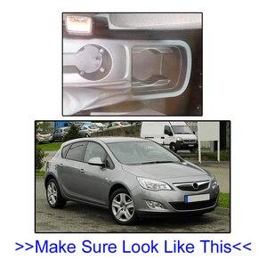 Image 3 - משענת עבור אופל ווקסהול אסטרה J שאר זרוע Rotatable אחסון תיבת קישוט רכב סטיילינג 2009 2010 2011
