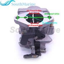 Boot Motor 3JE 03200 0 3JE032000 3JE032000M Vergaser Assy für Tohatsu Nissan 4 hub 6HP MFS6C NFS6C Außenbordmotor