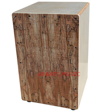 Afanti Music Maple / Birch Wood / Natural Cajon Drum (KHG-181)
