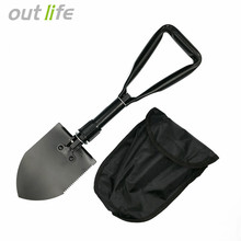 Outlife Military Multifunction  Camping Shovel