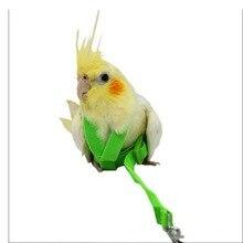 8-Typed попугай шлейка для птицы и поводок регулируемый ремень тренировочная веревка, прочные резиновые ремни на открытом воздухе летающий анти-укус для попугай, птица, хомяк футболка для мальчиков с рисунком ящерицы