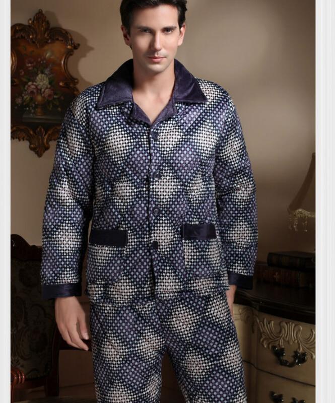 Aliexpress.com : Buy new 2016 quality coral fleece men pajama set ...