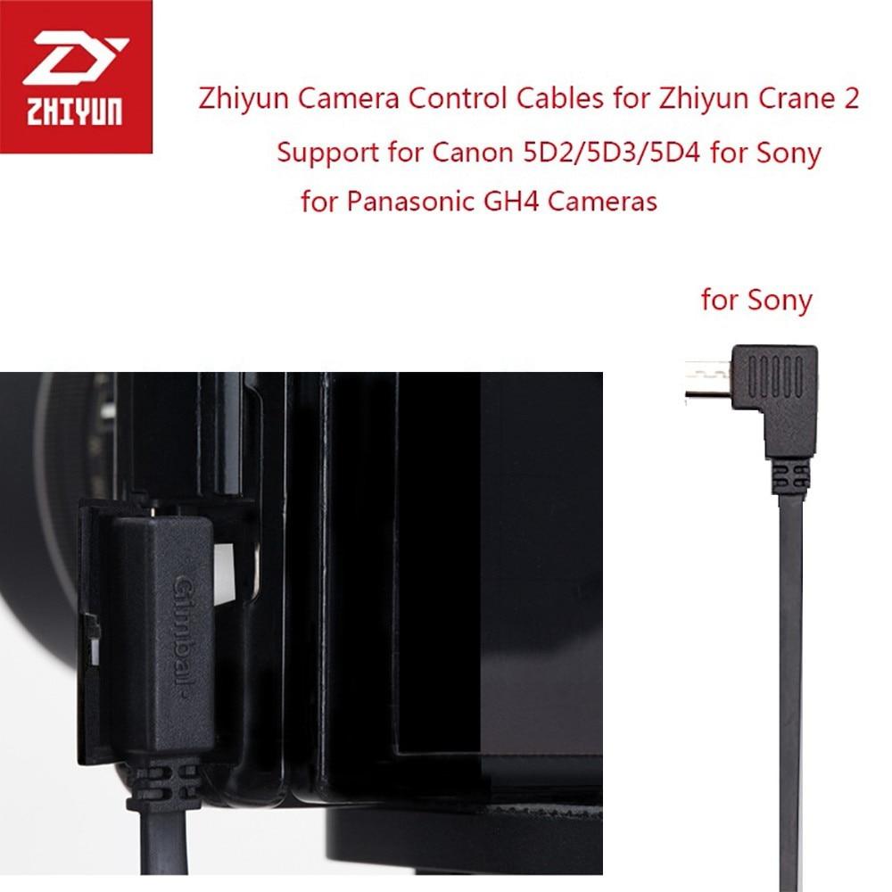 Zhiyun Cardan Estabilizador de Controle de Cabo Micro USB para Cabo USB MULTI ZW-MULTI-002 para Todos Sony Mirrorless Câmera Accesorios