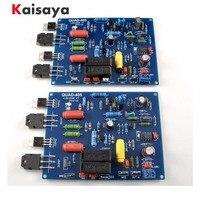 2PCS 2 channels QUAD405 100W+100w Audio Power Amplifier Board DIY KIT Assembled board