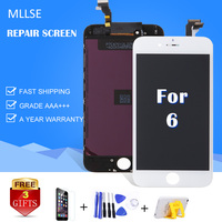 1pcs LCD For IPhone 6 6G LCD Screen Display With Touch Digitizer Assembly Wholesale Repair Parts