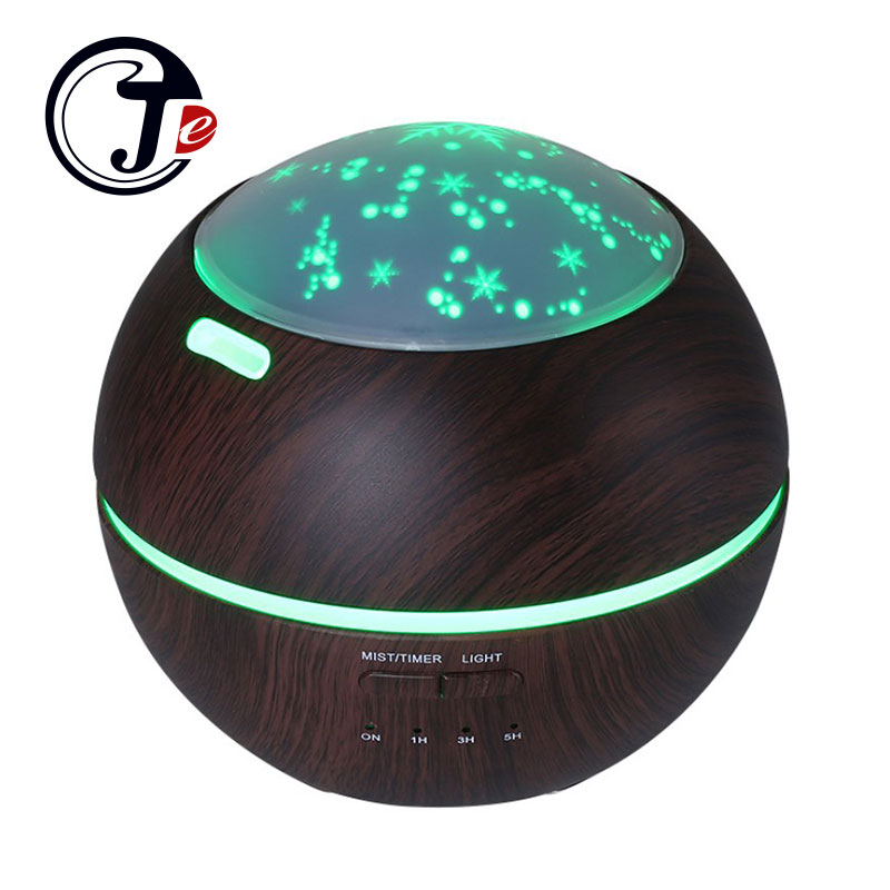Fashion Aroma Diffuser Aromatherapy Essential Oil Diffuser with Light Ultrasonic Air Humidifier Freshener Water Maker for Home hot sale humidifier aromatherapy essential oil 100 240v 100ml water capacity 20 30 square meters ultrasonic 12w 13 13 9 5cm