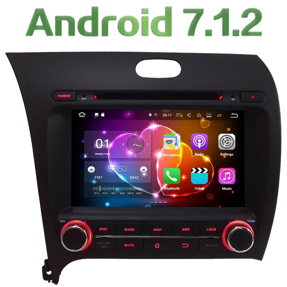 8 Quad Core Android 7 1 2 2GB RAM 3G 4G WIFI DAB SWC Car DVD