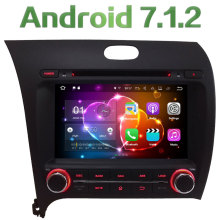 8″ Quad-Core Android 7.1.2 2GB RAM 3G 4G WIFI DAB+ SWC Car DVD Multimedia Player Radio Stereo For Kia K3 Forte Cerato 2013-2017