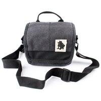 Free Shipping NEW Canvas Camera Bag Case For Canon SX60 SX50 SX40 SX30 SX20 SX510 SX500