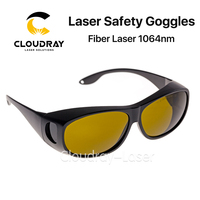 Cloudray 1064nm Laser Safety Goggles Style C 850 1300nm OD4 CE Protective Goggles For Fiber Laser