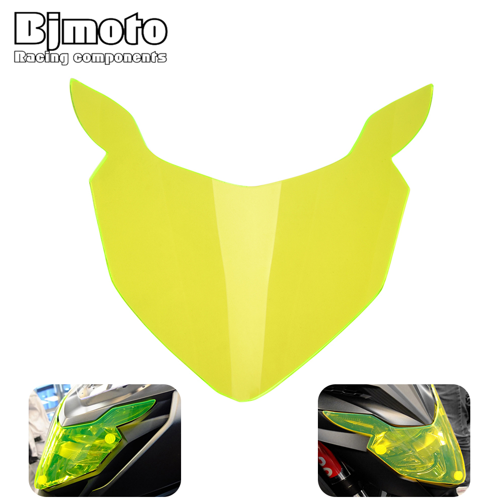 Motobike CBR 650F CB 650F Front Head light lamp Protector Cover headlamp Screen Lens For <font><b>Honda</b></font> CBR650F CB650F <font><b>CB500X</b></font> 2017 <font><b>2018</b></font> image