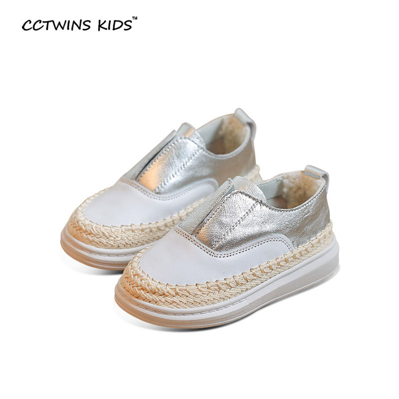 CCTWINS KIDS autumn girl baby shoe for children white sneaker kid brand sneaker boy platform shoe todder real leather sneakers