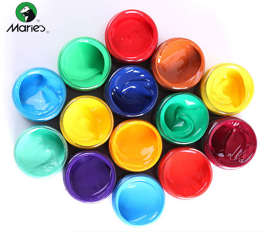 Wall Painting Supplies aliexpress : buy 1pc acrylic paints 100ml maries hand painted