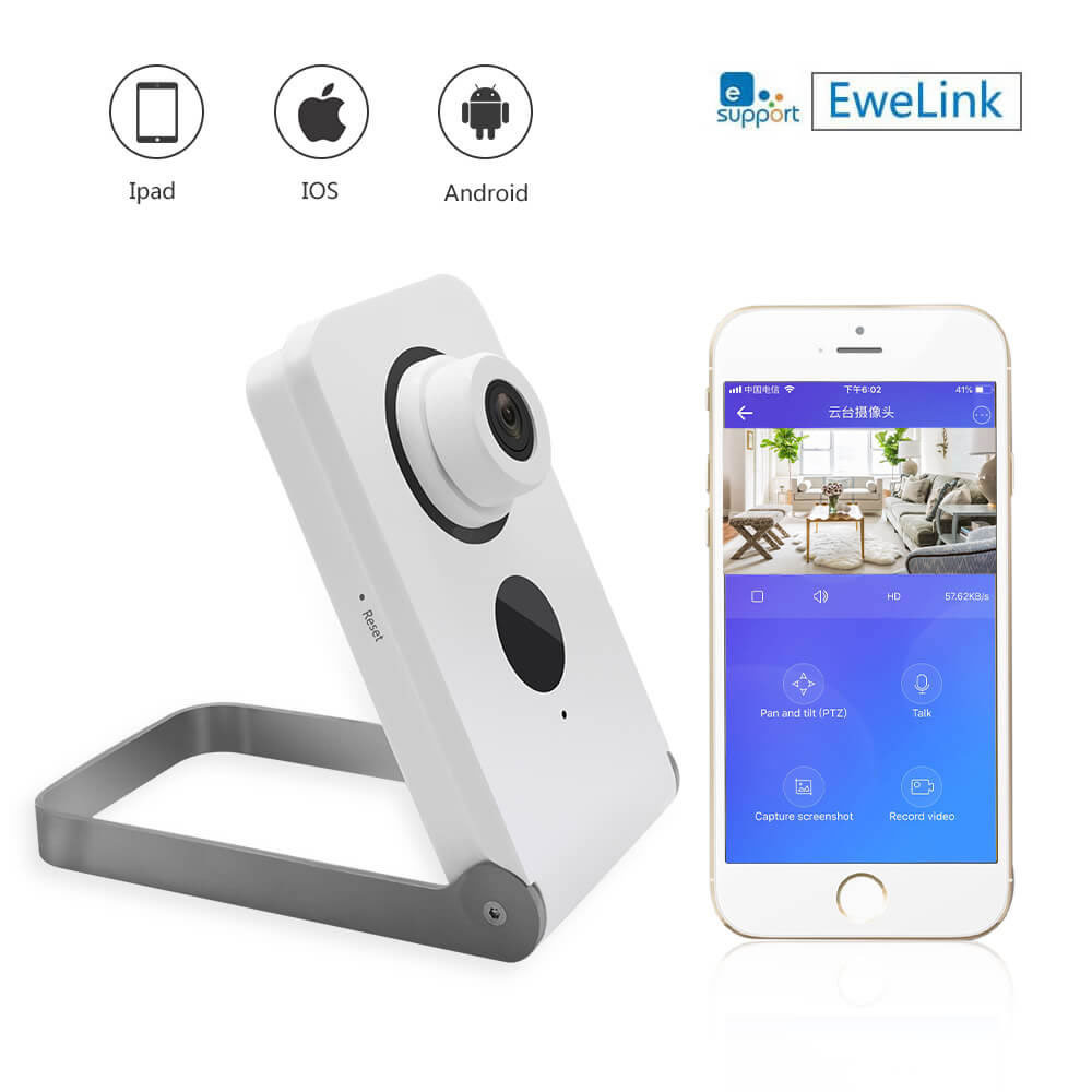 Eilink Smart Camera Bracket Eye  Night Vision Two-way Talk 720p IOS APP