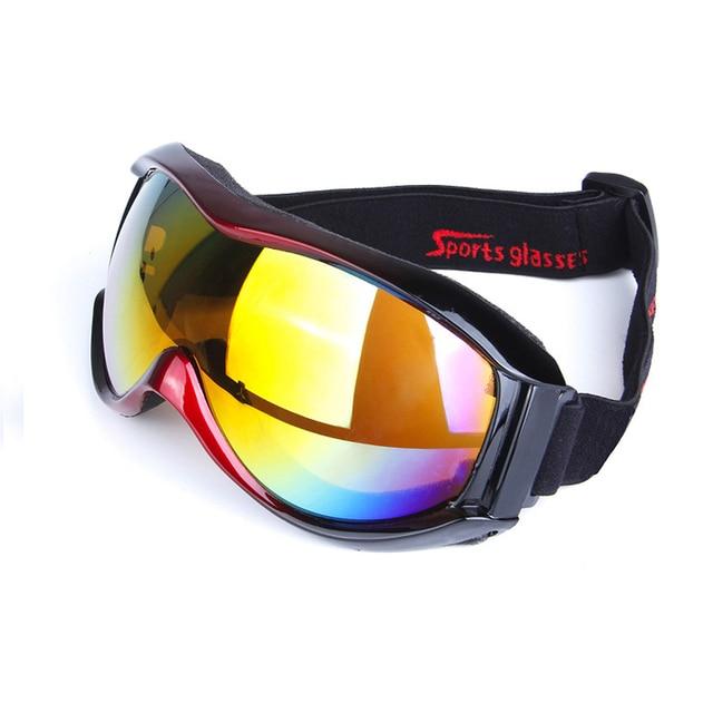 Lunettes de Ski Sport écran ANTI Brouillard Buée Protection protection UVA UVB UVC pour adultes homme femme Blanc o7TQc