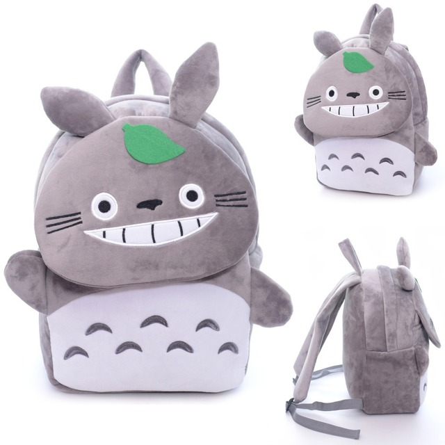 3ce5c82b9b Marry Chirstams Lovely Gifts Gray Totoro Plush Boy Girl Kids Cartoon Plush Schoolbag  Children Backpacks Anime Bags10 8Inches  LN. Price