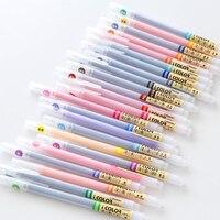 24 36colors Korea Style Kawaii School Supplies Gel Pen Set 0 3mm Fine Tip Cute Color