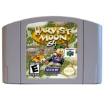 64 Bit Games Harvest Moon English NTSC Game Card image