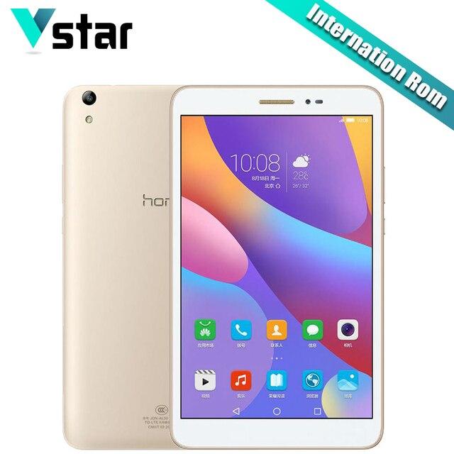 """Internationa прошивки Huawei Honor Планшеты 2 LTE/Wi-Fi 8 """"3 ГБ Оперативная память 16/32 ГБ Встроенная память Android планшеты Snapdragon MSM8939 Восьмиядерный 8.0MP s"""
