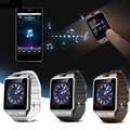 Dispositivos wearable smartwatch dz09 relógio u8 toque inteligente digital eletrônica sim tf cartão bluetooth wach dos homens para o esporte telefone android