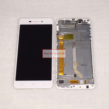 100 Warranty Black White LCD Display With Touch Screen Digitizer Assembly Frame For Lenovo S60 S60W