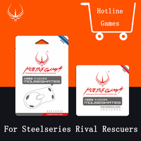 4sets Pack 0 28mm Hotline Games Mouse Feet For SteelSeries Rival Rescuers Competition Level MousePad Mousesskate