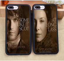 OUTLANDER TV Jamie Fraser Printed Soft Rubber Skin Mobile Phone Cases For iPhone 6 6S Plus 7 7S Plus 5 5S 5C SE 4 4S Capa Para