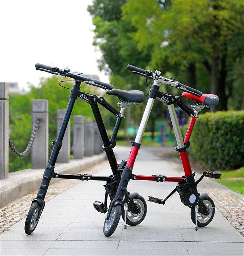 "HTB1.VydXhD1gK0jSZFsq6zldVXav Brand New Ultra Light 8""/10"" Mini Folding Bike Bicycle Portable Outdoor Subway Transit Vehicles Foldable Bicicleta"